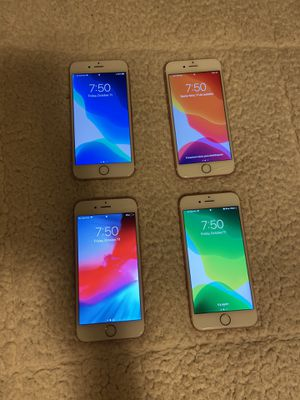 4 (FOUR) IPHONEs 6S for Sale in Kirkland, WA