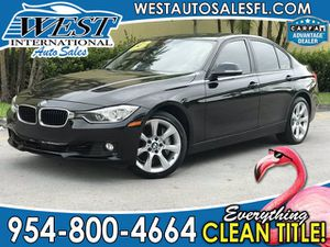 2013 BMW 3 Series 335i for Sale in Miramar, FL