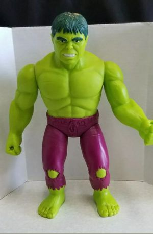 "VINTAGE 1991 TOY BIZ MARVEL INCREDIBLE HULK 15"" FIGURE * GOOD USED CONDITION for Sale in West Sacramento, CA"