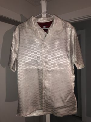Tommy x Kith satin button down for Sale in Miami Gardens, FL