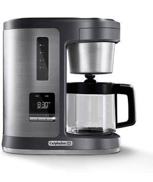 Calphalon Special Brew 10-Cup Coffee Maker, Dark Stainless for Sale in Las Vegas, NV