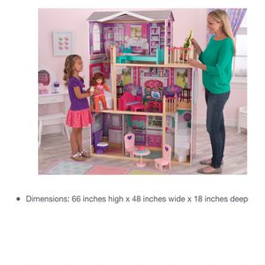 "HUGE 5 foot tall American girl Dollhouse , or any 18"" doll for Sale in Randolph, MA"