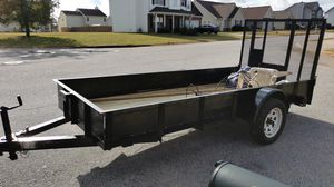5x 12 utility trailer metal steel. for Sale in McDonough, GA