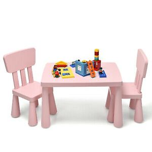 Kids Table & 2 Chairs Set Toddler Activity Play Dining Study Desk for Sale in Walnut, CA