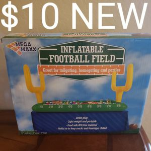 Inflatable Football Field Tub Beverage Cooler for Sale in Chandler, AZ