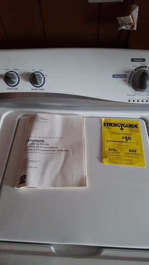 Kenmore washer and electric dryer for Sale in Waltham, MA