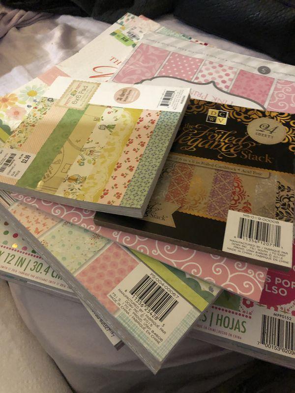 Crafting/Scrapbook Lot **New**