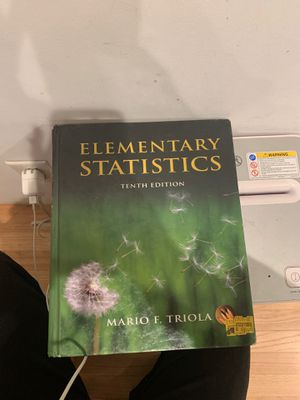 Elementary Statistics 10th edition for Sale in Monterey Park, CA
