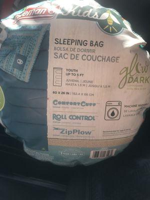Kids Coleman sleeping bag for Sale in Seattle, WA