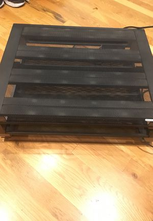 Computer monitor stand with built in plug and USB ports for Sale in Seattle, WA