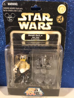 Star Wars Donald Duck Han Solo Disney Star tours for Sale in Massapequa, NY