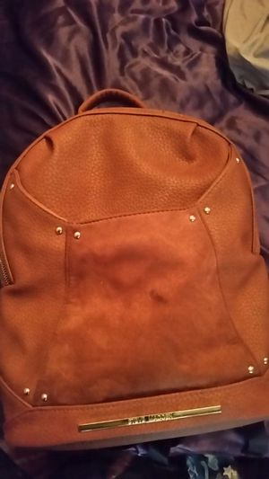 Brown leather and suede Steve Madden backpack purse for Sale in St. Louis, MO