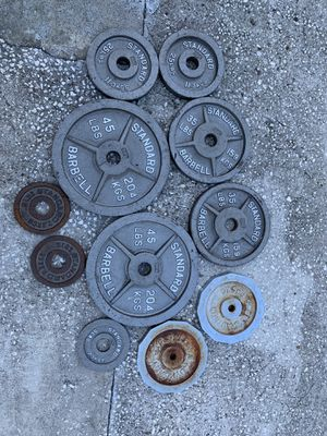 Weights selling at $0.50 per pounds for Sale in St. Petersburg, FL