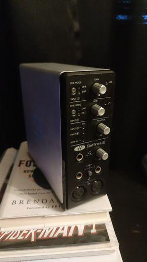 Focusrite Saffire LE (fire wire audio interface) for Sale in Miami, FL