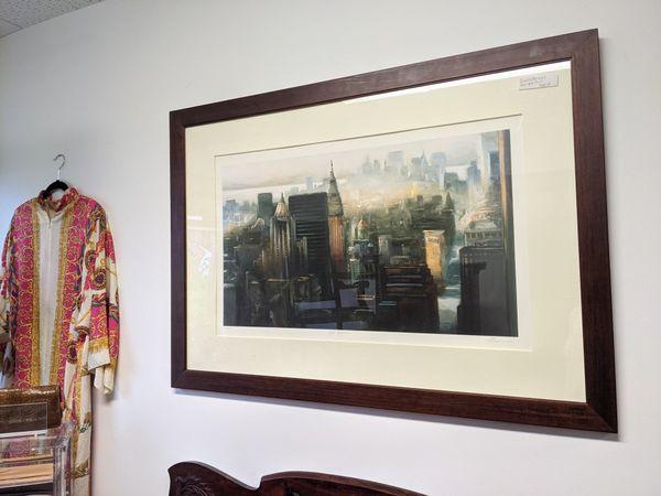Framed print of New York