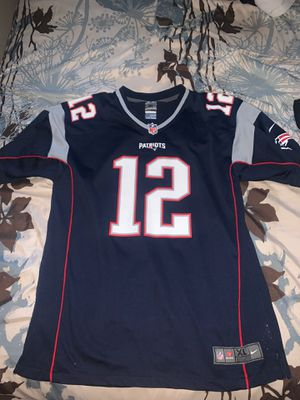 New England Patriots #12 Brady Jersey for Sale in Irving, TX