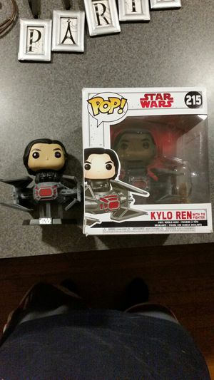 New Kylo Ren Funko Pop Star Wars Disney in Tie Fighter Last Jedi Force Awakens figure toy collectible for Sale in North Haven, CT