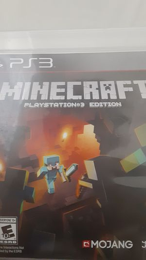 Minecraft Ps3 edition for Sale in Charlotte, NC