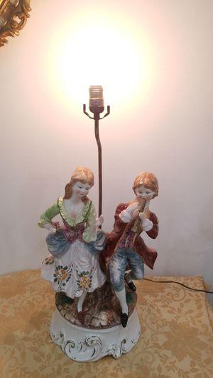 Antique Capodimonte porcelain lamp for Sale in North Miami, FL