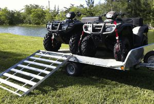 "2ATV""s withTrailer 1200$ Nice Deal ! for Sale in Emerson, NE"