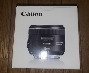 Canon EF35mm F/2 IS USM for Sale in Philadelphia, PA