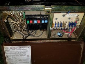 Travel trailer/ RV converter and fuse panel for Sale in Puyallup, WA