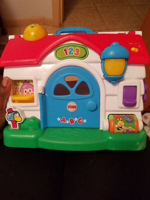 Fisher price learning and singing house for Sale in Avon Park, FL