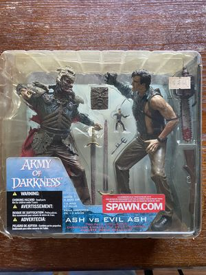 Army of Darkness Ash Vs Evil Ash action figures for Sale in Vancouver, WA