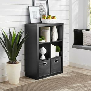 Better Homes & Gardens 6-Cube Storage Organizer, Black for Sale in Houston, TX