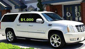 🍁🍁$1.000 Urgent for sale.Beautiful 2OO8 Cadillac Escalade.Nothing RWDWheelss for Sale in Mendota Heights, MN