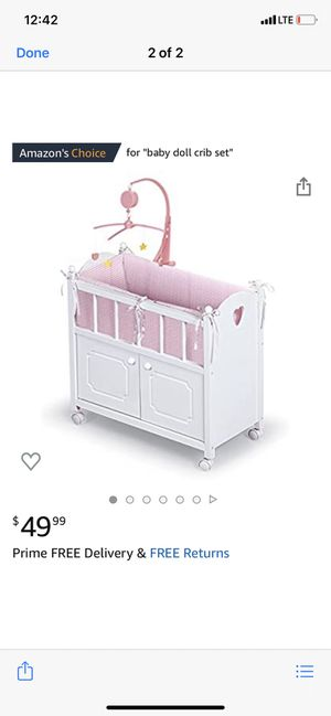 Baby doll crib set for Sale in Huntington Beach, CA