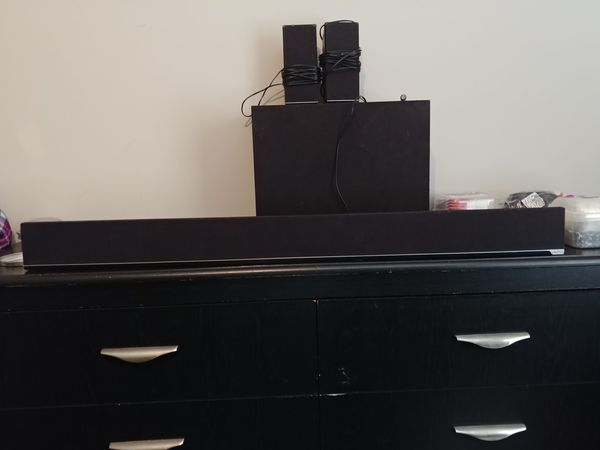 Vizio surround sound with wireless subwoofer