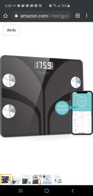 Body fat scale for Sale in Indianapolis, IN