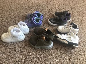 Kids Nike's, New Balance, OshKosh for Sale in Manassas, VA