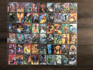 Marvel masterpiece vintage collectible cards for Sale in Los Angeles, CA