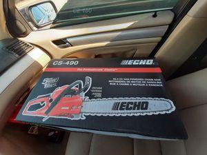 Echo CS-490 Chainsaw for Sale in Phoenix, AZ