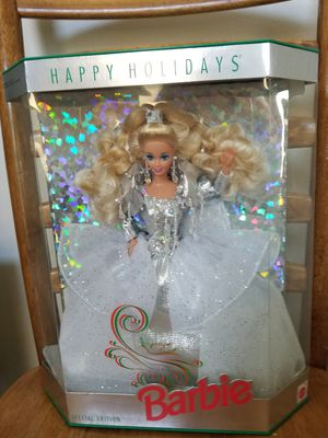 Special Edition 1992 Happy Holidays Christmas Barbie for Sale in Batavia, IL