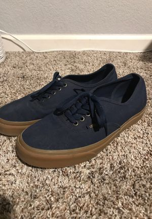 Vans 10 dark blue shoes for Sale in Broomfield, CO