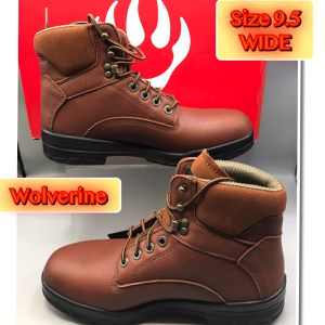 Wolverine Men's Work Boots W10104 Size 9.5Wide for Sale in Tinton Falls, NJ