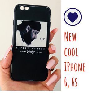 New cool regular iphone 6 or 6s case rubber nipsey hussle rap hip hop world star hypebeast hype swag men's women's for Sale in San Bernardino, CA