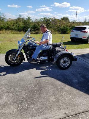 V-Star 1100 Yamaha trike for Sale in Indian Lake Estates, FL