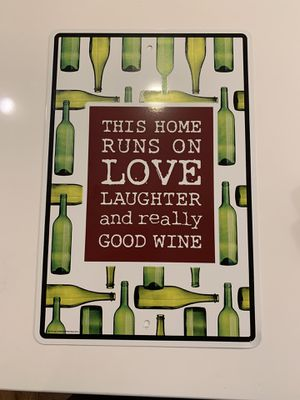 "Home Decor ""Wine"" Sign for Sale in Annandale, VA"