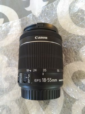 New Canon EFS 18-55mm IS lens for Sale in Fox River Grove, IL
