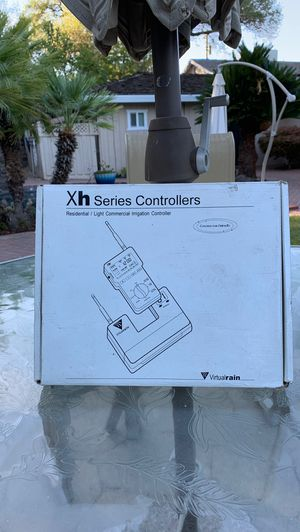 9 station sprinkler controller remote controller never used all complete for Sale in Fair Oaks, CA