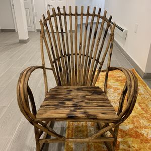 Moroccan Wood Rocking Chair for Sale in Brooklyn, NY