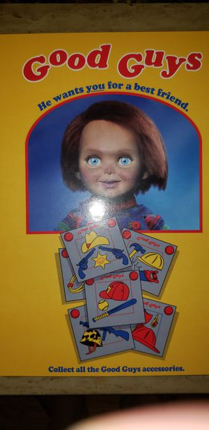 """Childs Play Ultimate Chucky Doll 6"""" for Sale in Chicago, IL"""