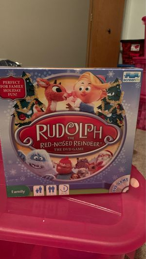 NIB: Rudolph the Red Nose Reindeer - DVD Game for Sale in Chippewa Falls, WI