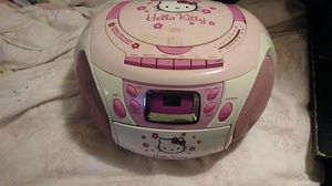 Hello kitty CD player/ radio for Sale in San Francisco, CA