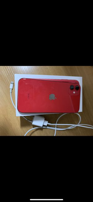 iPhone 11 PRODUCT RED 64 GB UNLOCKED SIM FREE for Sale in Houston, TX