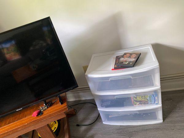 White Plastic 3-drawer Wide Organizer